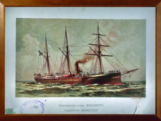 лодка манджур